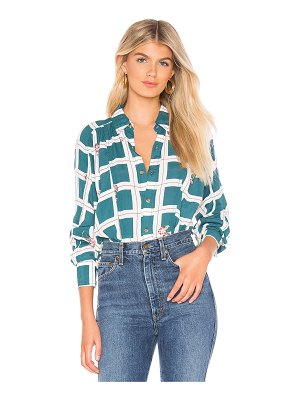 Free People window to my heart button down