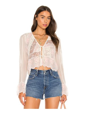 Free People x revolve bloomfield patched top