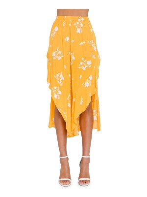 FREE THE ROSES joyce tie waist culottes