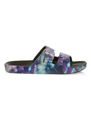 Freedom Moses cosmic two-strap slides