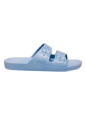 Freedom Moses lagoon two-strap slide sandals