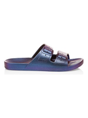 Freedom Moses metallic plastic pool slides