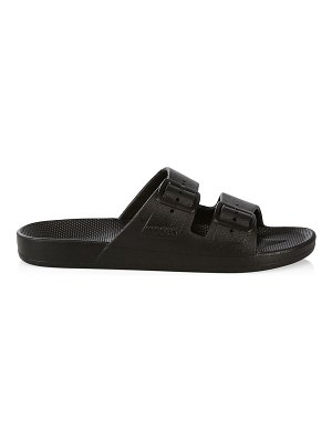 Freedom Moses two-band slide sandals