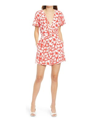 French Connection baez print romper