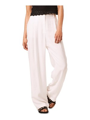 French Connection brekhna wide leg pants