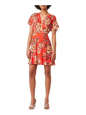 French Connection claribel floral faux wrap dress
