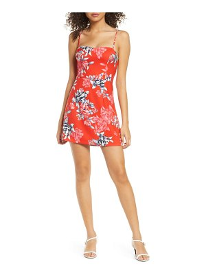 French Connection coletta printed sleeveless minidress