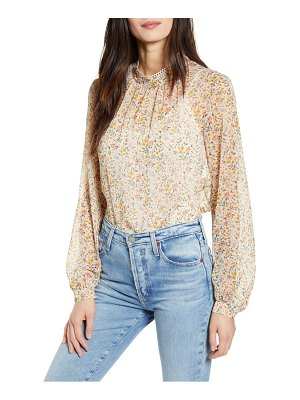 French Connection delmira crinkle blouse