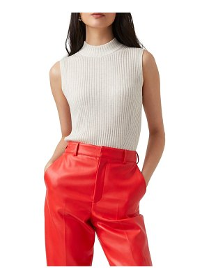 French Connection judie mock neck tank