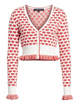 French Connection kiss crop cardigan