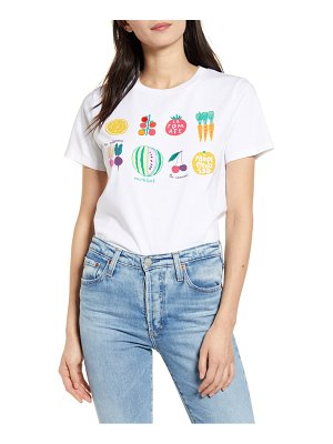 French Connection le legumes graphic tee