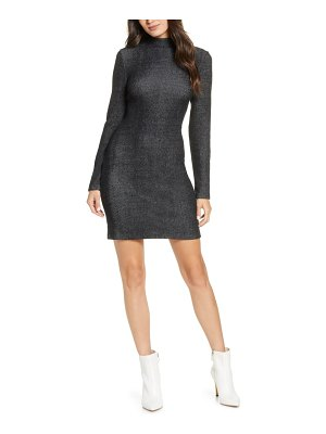 French Connection petra long sleeve knit dress