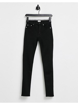 French Connection rebound skinny jeans in black