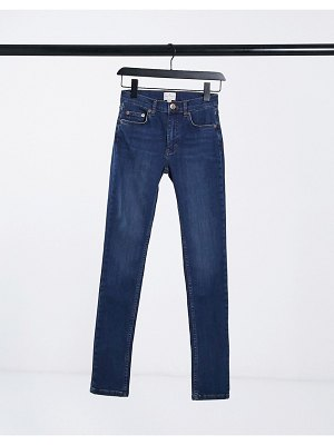 French Connection rebound skinny jeans in blue-blues