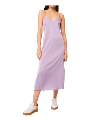 French Connection stretch satin slipdress