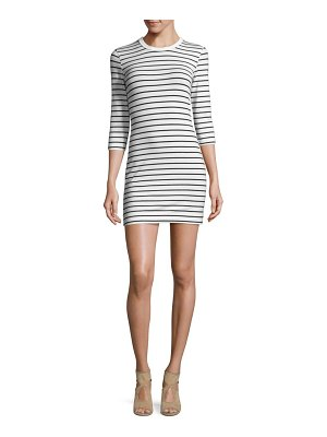 French Connection Tim Bodycon Striped Dress