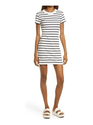 French Connection tommy ribbed t-shirt dress