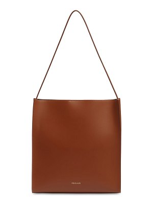 Frenzlauer Square smooth leather tote bag