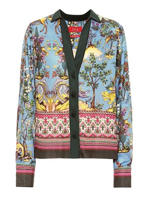 F.R.S For Restless Sleepers anaideia printed silk-blend shirt