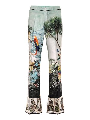 F.R.S For Restless Sleepers dioscuri printed silk pants