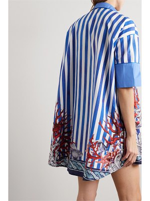 F.R.S For Restless Sleepers nerito printed cotton-poplin blouse