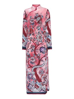 F.R.S For Restless Sleepers teseo printed silk midi dress