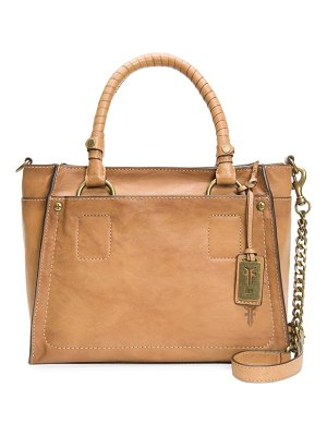 Frye demi leather satchel