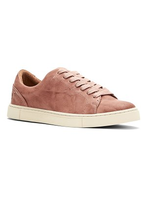 Frye Ivy Leather Court Sneakers