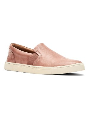 Frye Ivy Leather Slip-On Sneakers