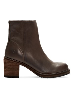 Frye karen leather ankle boots