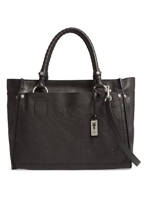 Frye large demi leather satchel