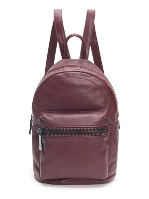 Frye lena lambskin leather backpack