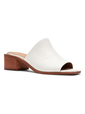 Frye Lucia Leather Mule Sandals