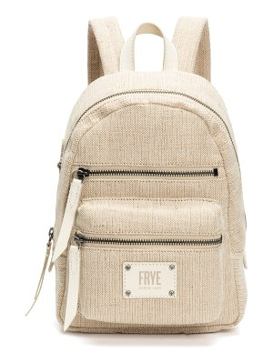 Frye mini ivy canvas backpack