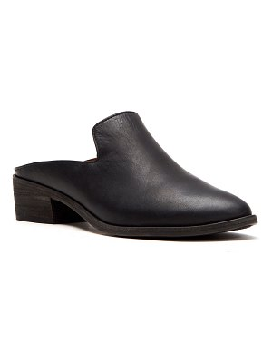 Frye Ray Leather Western Mules