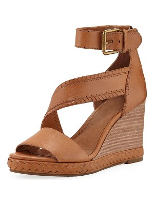 Frye Riviana Leather Wedge Sandals