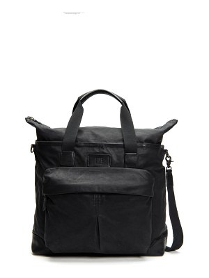 Frye scout canvas & leather overnight bag