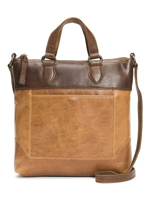 Frye small melissa leather crossbody bag