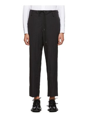 Fumito Ganryu warm up drawstring lounge pants