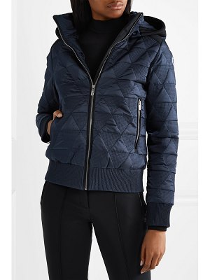 FUSALP loria hooded quilted ski jacket