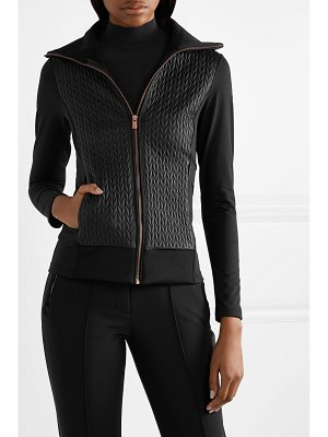 FUSALP myrtille quilted shell and stretch-jersey jacket