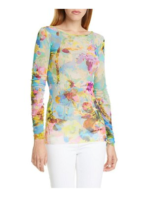 Fuzzi floral long sleeve top