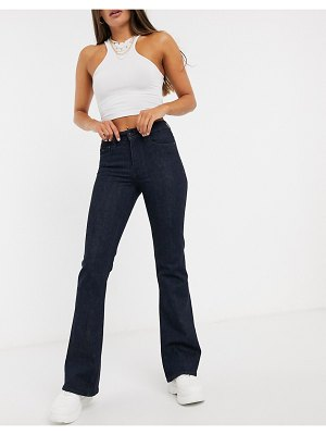 G-Star 3301 high flare jeans in rinsed wash-blue