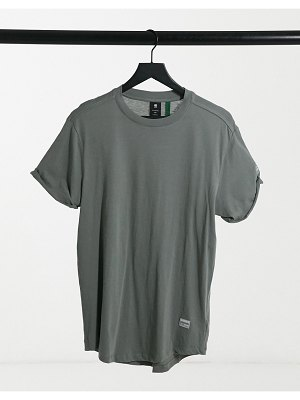G-Star loose fit tee in khaki-green