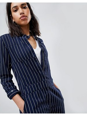 G-Star Pharrell Jumpsuit in Pinstripe