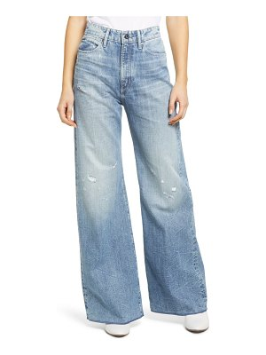 G-Star RAW deck ultra high waist wide leg jeans