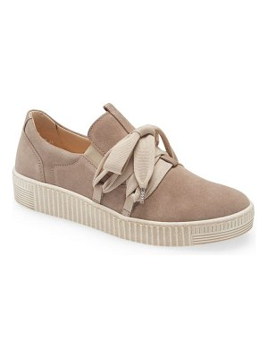 Gabor fashion lace-up sneaker