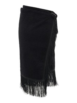 Gabriel For Sach pareo fringed cotton-terry sarong