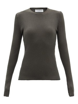 GABRIELA HEARST browning ribbed cashmere-blend sweater