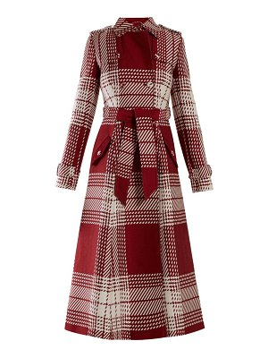 GABRIELA HEARST cassatt checked wool coat